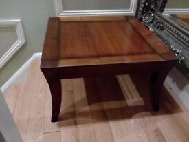 Well made wooden coffee table in good condition