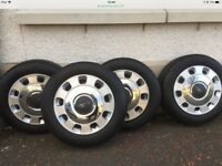 Fiat 500 wheels,tyres & hub caps