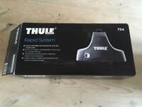 Thule roof bar footpack 754