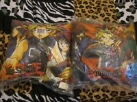 YUGI OH CUSHIONS BRAND IN PACKET NEW X 2 GREAT FOR A KIDS BEDROOM