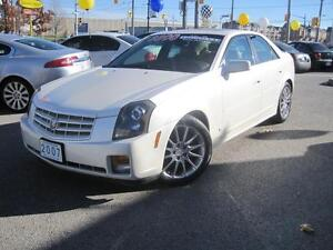 2007 CADILLAC CTS | 3.6L • Leather • Roof • Pearl