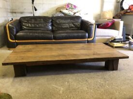 Large Reclaimed Low Down Coffee Table