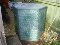 Composter Bin air ventlated