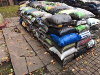 140 x 15kg Bags of top soil ( Easy Access ) 25p Per Bag!