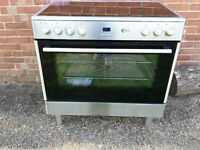 Flavel Electric Range Cooker - Stainless Steel