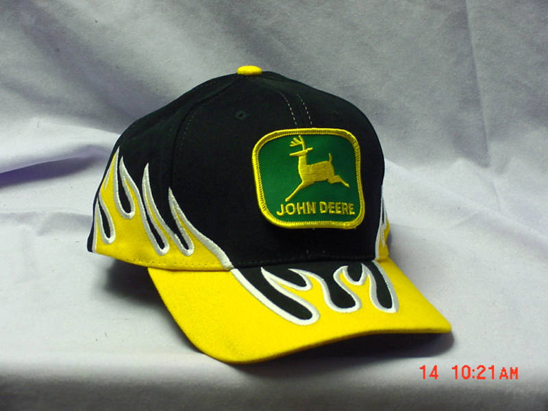 JOHN DEERE FLAME CAP, NEW