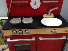 John Lewis wooden play kitchen