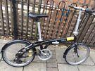 Tern Folding Bike + Lights + Lock (purchase receipt available)