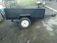 Small builder trailer