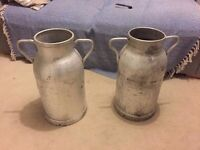 Milk churns. Good condition perfect for weddings or as a planter