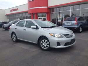 2013 Toyota Corolla CE  ACCIDENT FREE  ONE OWNER 