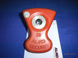 Al-Ko Wheel Lock Insert 29 ( Vortex 14) Used By Coachman
