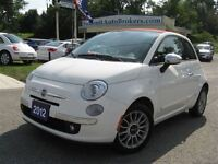 2012 Fiat 500 500C Lounge convertible