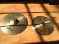 Zildjian Cymbals - Crash & Ride in Perfect Condition - Quick Sale!
