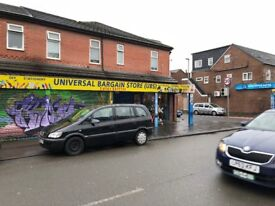 Fully Stocked Large Discount Store Business For Sale - 4 Rooms To Let Upstairs - Main Road Location