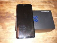 Samsung Galxy S9 64GB NEW IN BOX, UNUSED and pack of 2 screen protectors