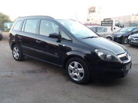 2007 Vauxhall Zafira 1.6 i 16v Life 5dr 110k MILEAGE*JUST SERVICED*NEW MOT*NEW CAM BELT*WARRANTY*