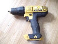 18 V Dewalt cordless drill BODY ONLY
