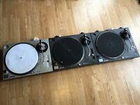 3x Technics 1210 MK2 1200 MK2 - Need Attention