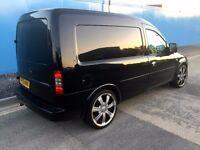 "2006 Vauxhall Combo 1.3 CDTi, Gleaming Black Colour Coded, 18"" Chrome Alloys"