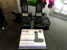 BT8500 Enhanced Call Blocker Cordless Home Phone with 2 Handsets