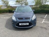 Ford C-Max Titanium 1.6 Diesel with full year MOT and only £30 road tax