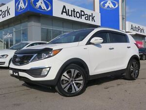 2013 Kia Sportage EX/LEATHER/SUNROOF/REARVIEW CAM/ALLOYS