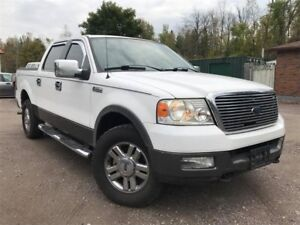 2005 Ford F-150 Accident-Free XLT Crew Cab 4X4| Running Boards