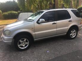 MERCEDES ML AUTOMATIC PETROL MOT EXPIRED CAR START AND DRIVE
