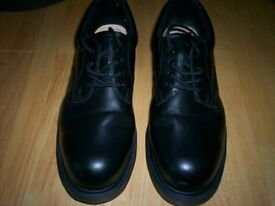 3 Pairs of Black Mens Shoes.
