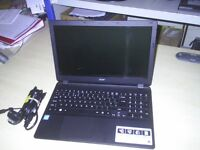 ACER ASPIRE E15 START SLIMLINE LAPTOP with HD graphics, 500GB HDD, 4GB DDR3