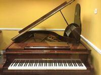 Beautiful Bosendorfer Baby Grand Piano.