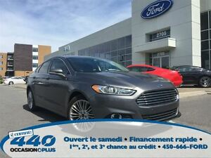 2014 Ford Fusion SE AWD * Cuir, Toit, Navigation *