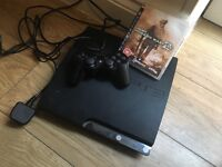 SLIMLINE PS3 with controller and COD modern warfare 2