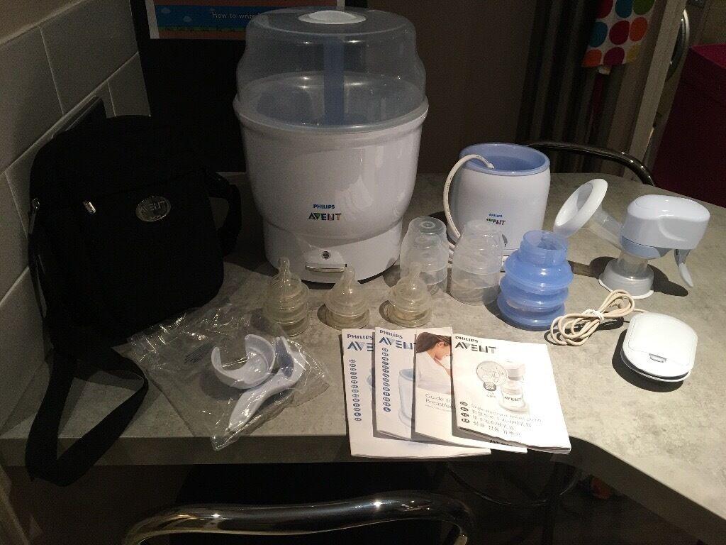 Avent Breast Pump & Steriliser (VGC)