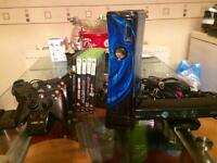 Xbox360 With Kinect and some extras