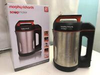 Morphy Richards Soup Maker with serrator blade