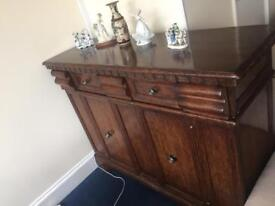 Auction bought showroom antique chest if draws.