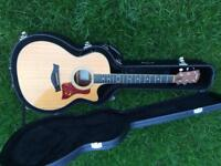 Taylor 414ce acoustic guitar with case