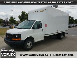 2014 GMC Savana G3500 16Ft V8 Gas + Ramp