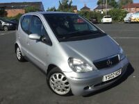 "ITS FINALLY HERE! YOU'LL LIKE THIS 02 MERCEDES A160 AUTOMATIC, MOT JAN 18 ""U BELIEVE"" £349 yes £349"