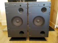 Wharfedale Mach 3 speakers - with stands