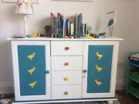 Children's hand painted solid wood furniture