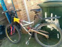 Quick sell magna mountain bike