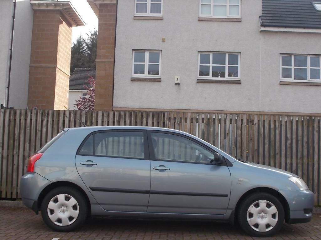 48k F/S/H - TOYOTA COROLLA 1.4 VVTI 2004 - MOT 10/17 - STUNNING LOW MILEAGE CAR 5 DOOR (WARRANTY)