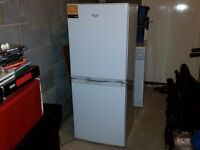 BUSH FRIDGE FREEZER - WHITE - UNDER A YEAR OLD - IMMACULATE - COULD DELIVER LOCALLY