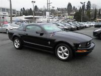 2007 Ford Mustang V6 Deluxe Coupe Sirius Radio Pony Package 17'