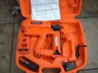 paslode im250 second fix cordless nail gun perfect order