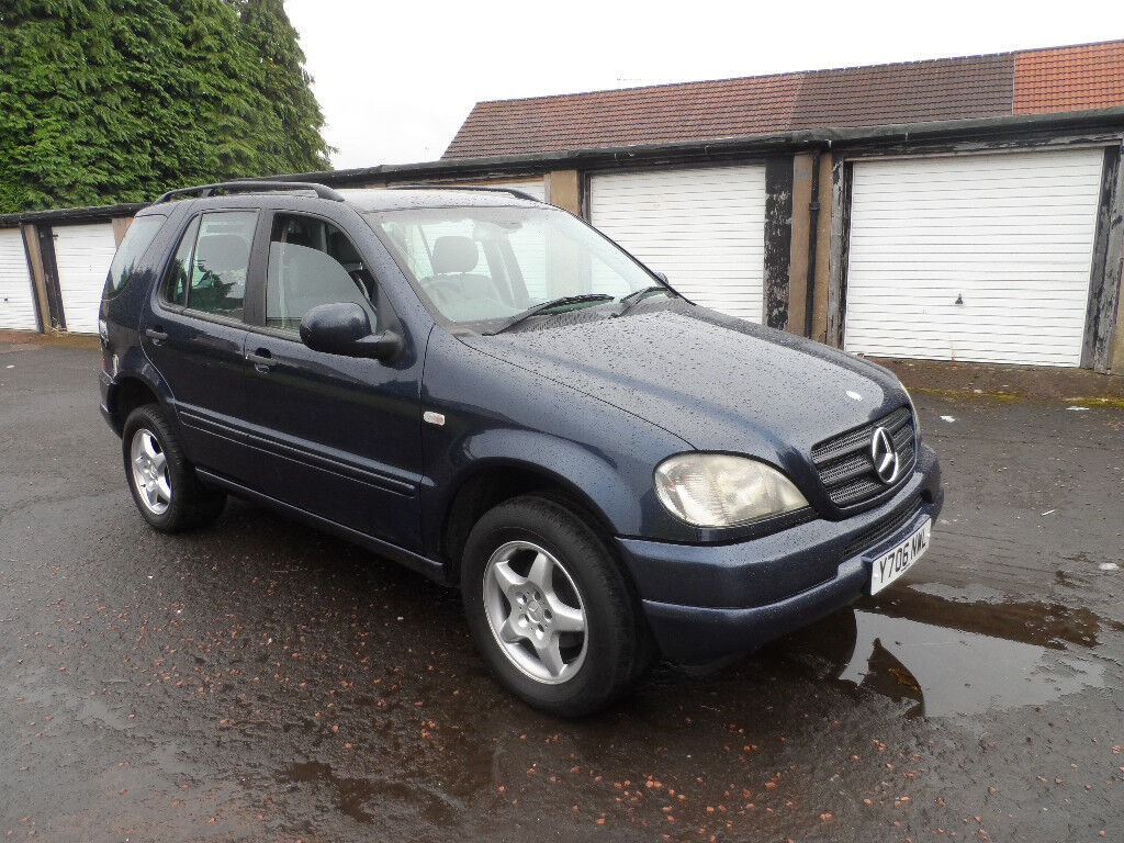 mercedes ml 270 cdi 4x4 y reg 2001 mot feb 2018 in east. Black Bedroom Furniture Sets. Home Design Ideas