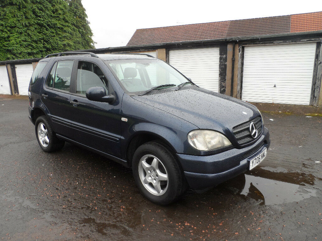Mercedes Ml 270 Cdi 4x4 Y Reg 2001 Mot Feb 2018 In Baillieston